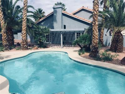 Las Vegas Single Family Home For Sale: 7485 Falcon Rock Drive