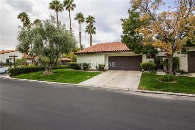 Las Vegas Condo/Townhouse For Sale: 4593 Madreperla Street
