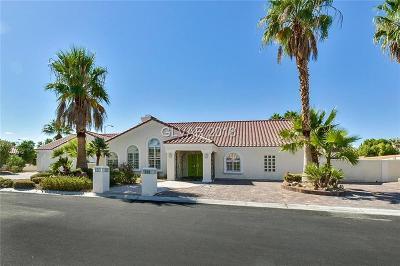 Las Vegas Single Family Home For Sale: 7785 Coley Avenue