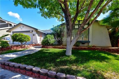 Boulder City Single Family Home For Sale: 1519 Sandra Drive