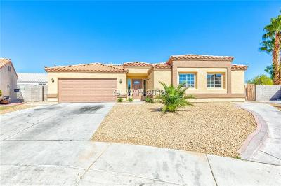 North Las Vegas Single Family Home For Sale: 5420 Bible Circle