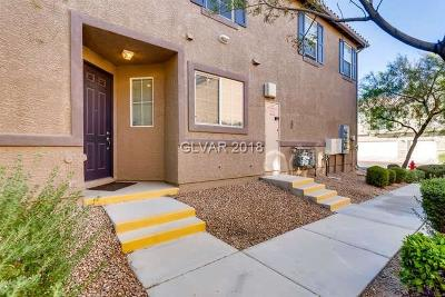 North Las Vegas Condo/Townhouse For Sale: 395 Clarence House Avenue #2