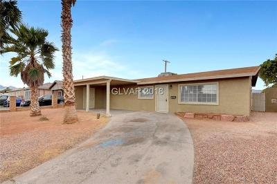 North Las Vegas Single Family Home Under Contract - Show: 2016 Lawry Avenue