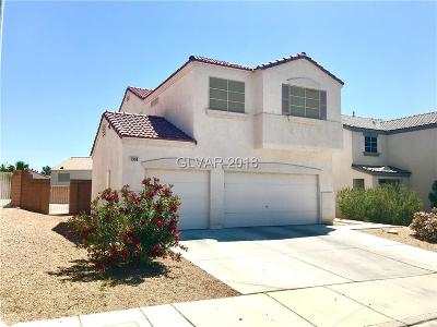 North Las Vegas Single Family Home For Sale: 5938 Willis Street