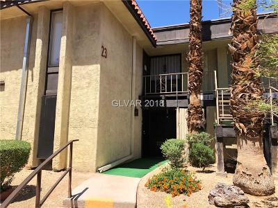 Las Vegas Condo/Townhouse For Sale: 1405 Vegas Valley Drive #225