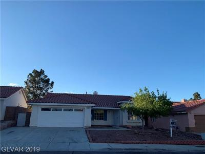 Henderson Single Family Home For Sale: 722 Cozy Canyon Drive