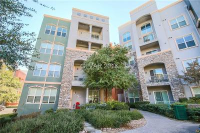 Las Vegas Condo/Townhouse For Sale: 38 East Serene Avenue #201