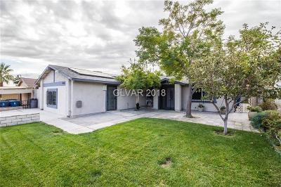 Las Vegas Single Family Home For Sale: 6605 Mountainwood Lane