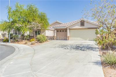 North Las Vegas Single Family Home For Sale: 5848 Outraker Court