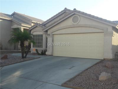 North Las Vegas Single Family Home Under Contract - Show: 4610 Grand Rock Drive