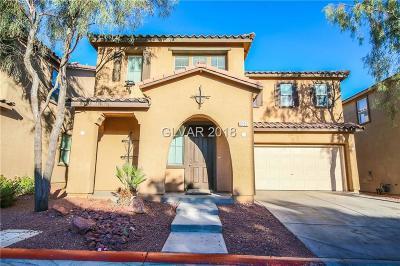 Las Vegas Single Family Home For Sale: 3350 Elephant Tree Street