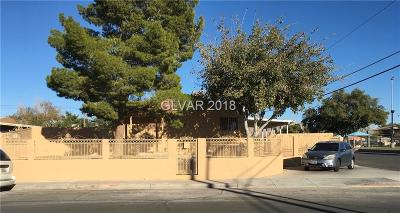North Las Vegas Single Family Home For Sale: 2200 McCarran Street