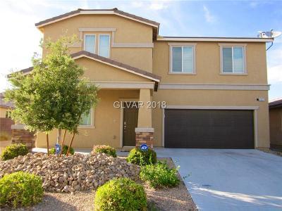 Las Vegas Single Family Home For Sale: 9627 Vital Crest Street