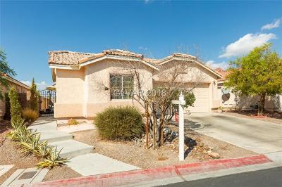 North Las Vegas Single Family Home For Sale: 6071 Camden Cove Street