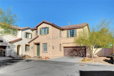 North Las Vegas Single Family Home For Sale: 5380 Pendergrass Street