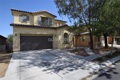 North Las Vegas Single Family Home For Sale: 5212 Grand Lake Street