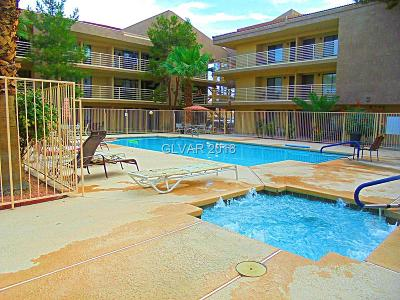 Las Vegas NV Condo/Townhouse For Sale: $71,000