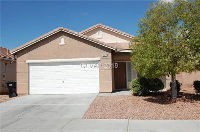 North Las Vegas Single Family Home For Sale: 6249 Highland Gardens Drive