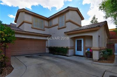 Henderson Single Family Home For Sale: 1483 Summer Glow Avenue