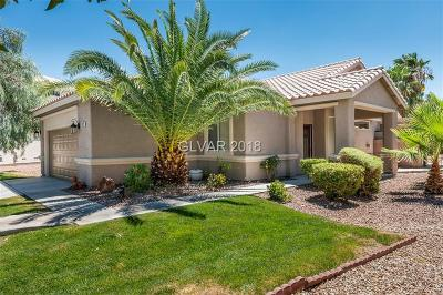 Henderson Single Family Home For Sale: 699 Turtlewood Place