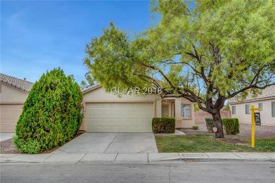 North Las Vegas Single Family Home For Sale: 2217 Mediterranean Sea Avenue