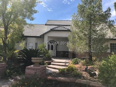 Single Family Home For Sale: 5525 Campbell Road