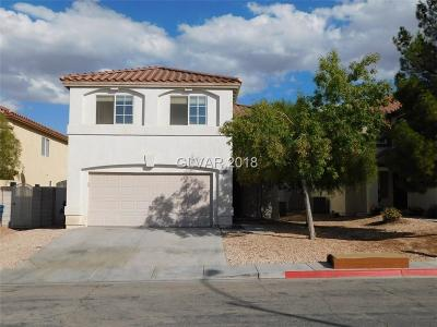 Las Vegas Single Family Home For Sale: 10156 Monks Hood Court