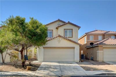 Las Vegas Single Family Home For Sale: 4065 Pistachio Nut Avenue