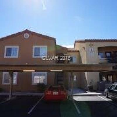 Las Vegas Condo/Townhouse For Sale: 6160 Rumrill Street #233