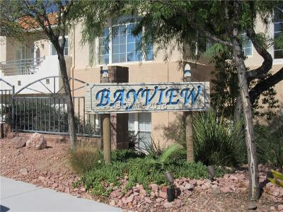 Boulder City Condo/Townhouse For Sale: 693 Bay View Drive #1323