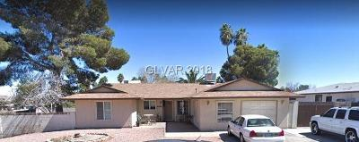 Las Vegas Single Family Home For Sale: 4428 Greenhill Drive
