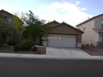 North Las Vegas Single Family Home For Sale: 6523 Copper Smith Court