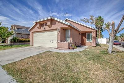 Las Vegas Single Family Home For Sale: 2220 Goldhill Way