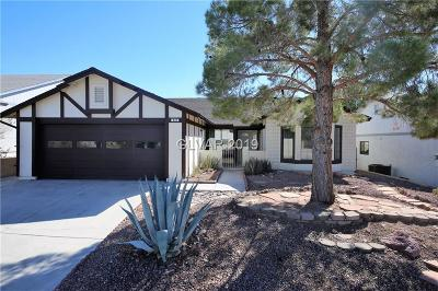 Henderson Single Family Home For Sale: 935 Anchor Drive