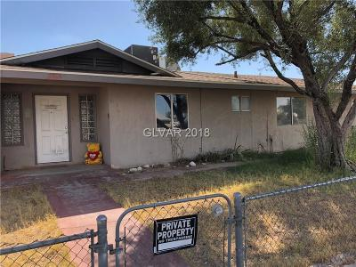 North Las Vegas Single Family Home For Sale: 2825 East Carey Avenue