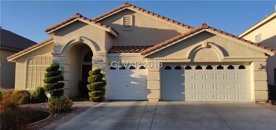 Las Vegas Single Family Home For Sale: 1920 Capo San Vito Avenue