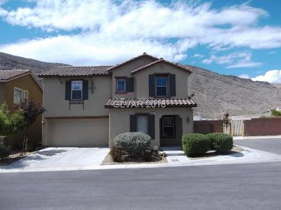 Las Vegas Single Family Home For Sale: 3817 Wind Ridge Court