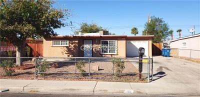 Las Vegas Single Family Home For Sale: 1410 Euclid Avenue