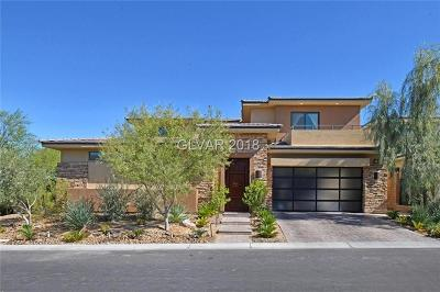 Las Vegas NV Single Family Home For Sale: $1,360,000