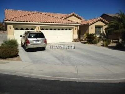 North Las Vegas Single Family Home For Sale: 3608 Cantura Crest Court