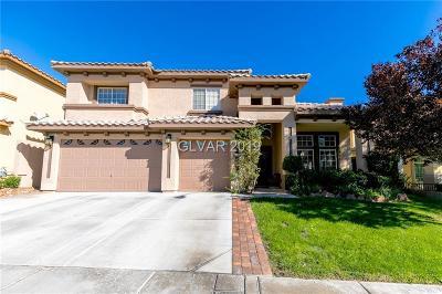 Las Vegas Single Family Home For Sale: 4562 Laguna Vista Street
