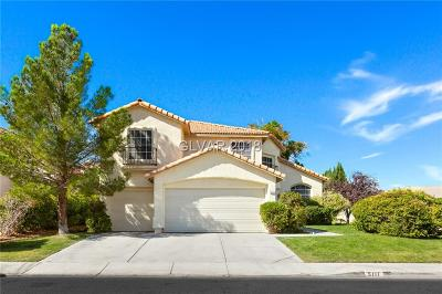 Las Vegas Single Family Home For Sale: 5111 Orchard Spring Court