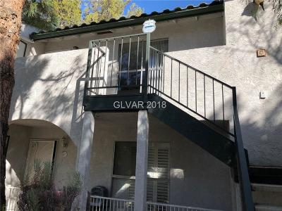 Las Vegas NV Condo/Townhouse For Sale: $126,000