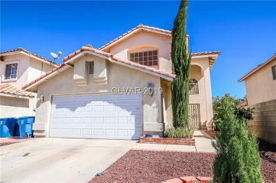 Las Vegas Single Family Home For Sale: 506 Hall Of Fame Drive