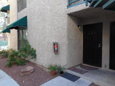 Las Vegas Condo/Townhouse For Sale: 510 Elm Drive #105