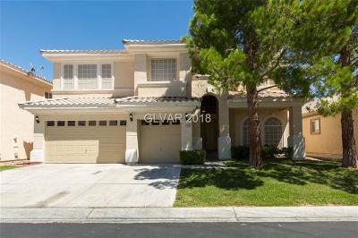 Las Vegas Single Family Home For Sale: 4712 Stavanger Lane