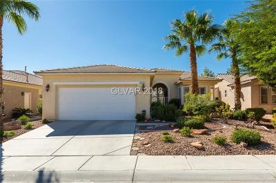 Las Vegas Single Family Home For Sale: 4325 Bella Cascada Street