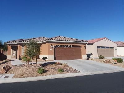 North Las Vegas Single Family Home For Sale: 3740 Rocklin Peak Avenue