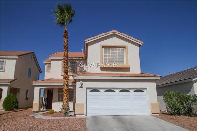 Las Vegas Single Family Home For Sale: 7521 Foolish Pleasure Drive