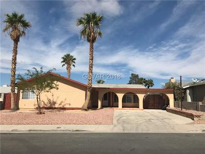 Las Vegas Single Family Home For Sale: 6760 Soldela Drive